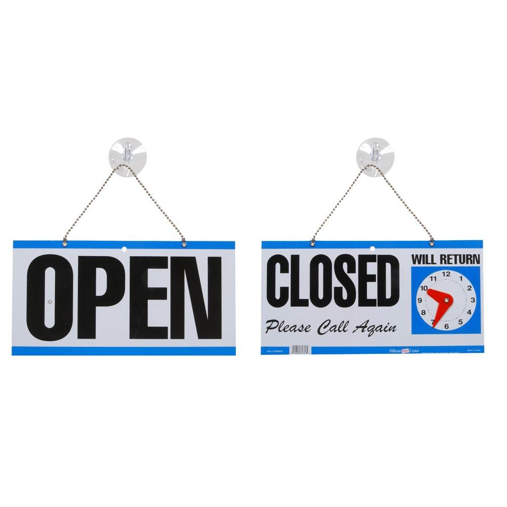 open closed