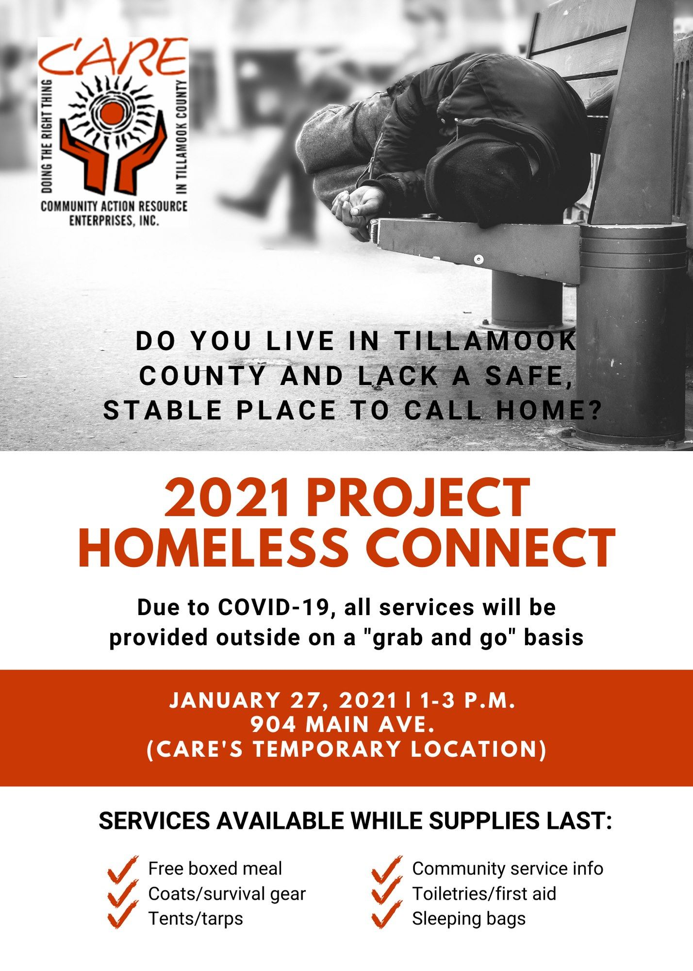 Care homeless connect